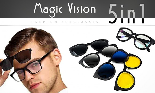 Magic Vision 5in1 Szemüveg